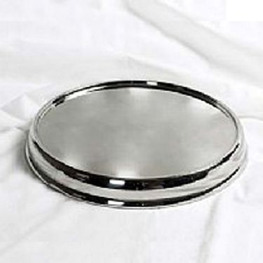 Communion Tray Base / Silvertone